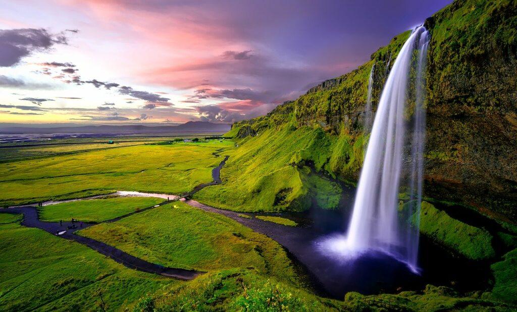 seljalandsfoss air terjun islandia