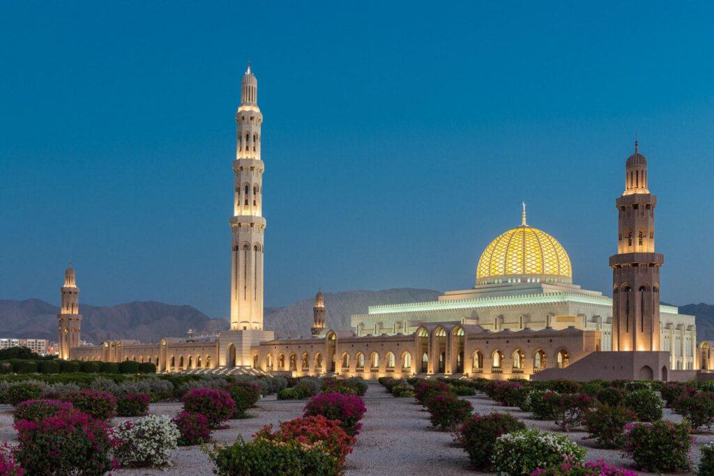 masjid Sultan Qaboos Grand Mosque
