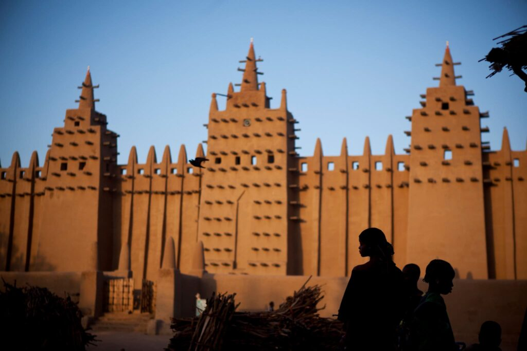 masjid Great Mosque of Djenne