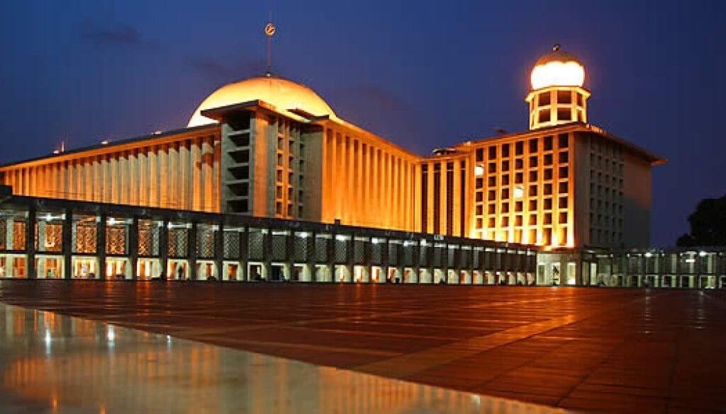 foto Masjid Istiqlal terbaru