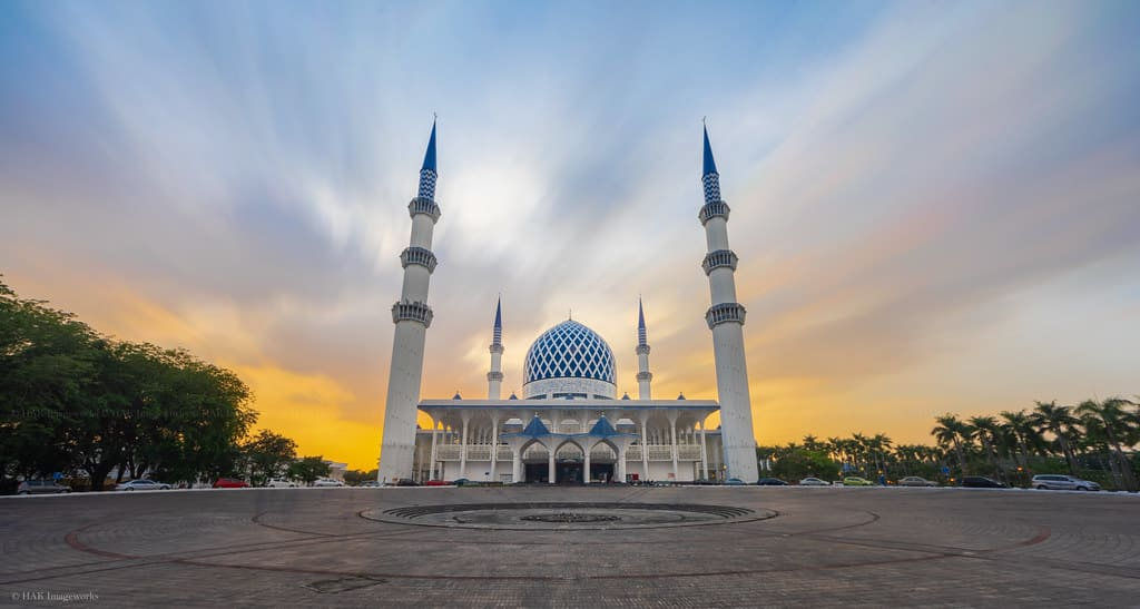 gambar Masjid Sultan Salahuddin Abdul Aziz