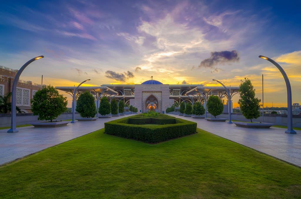 foto Masjid Tuanku Mizan Zainal Abidin