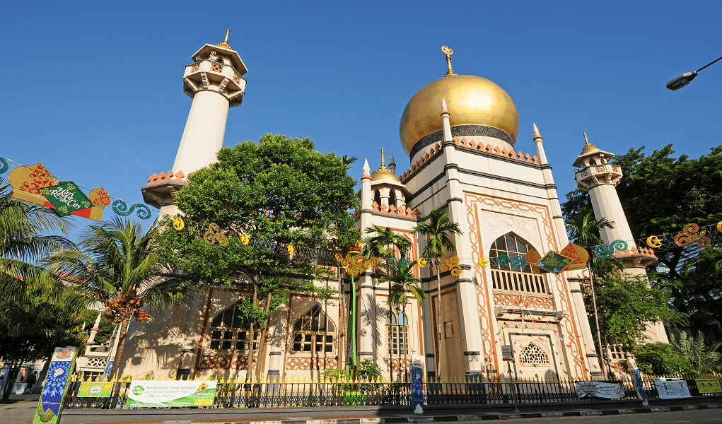 wallpaper Masjid Sultan Singapura