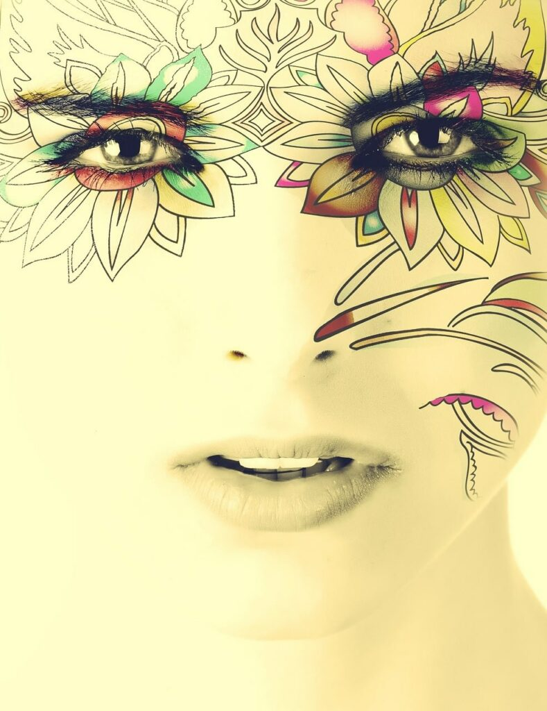 wajah wanita