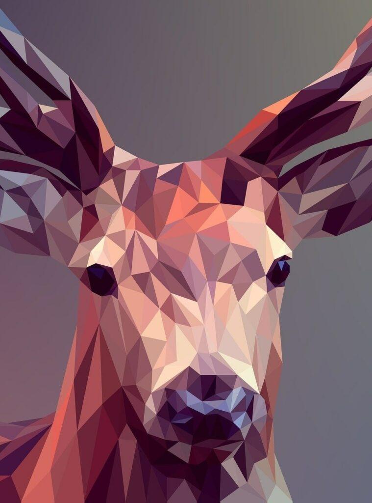 wallpaper hewan rusa