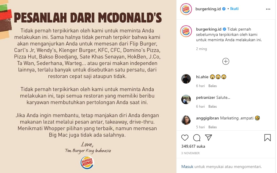burger king indonesia
