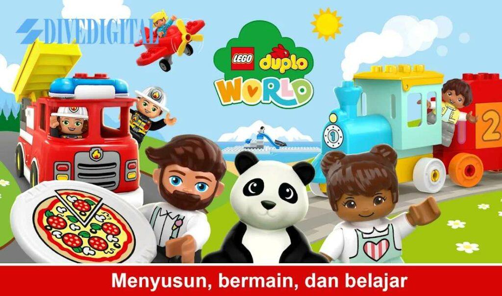 LEGO® DUPLO® WORLD - Game Belajar Prasekolah