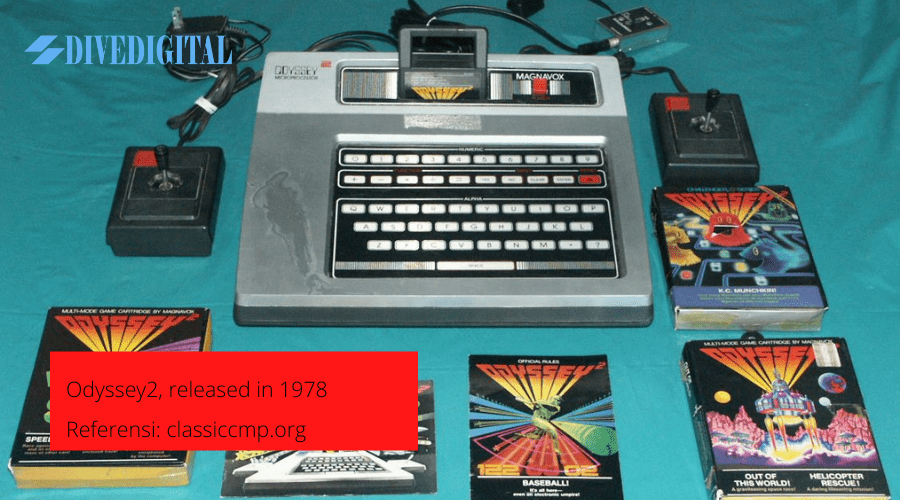 Odyssey2, released in 1978