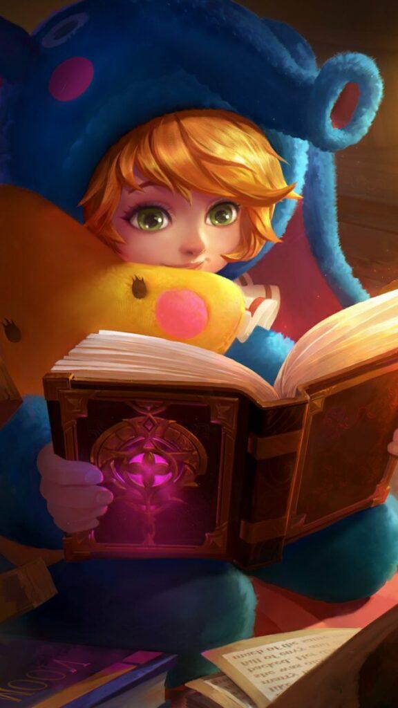 Nana Mobile Legends Baca Buku