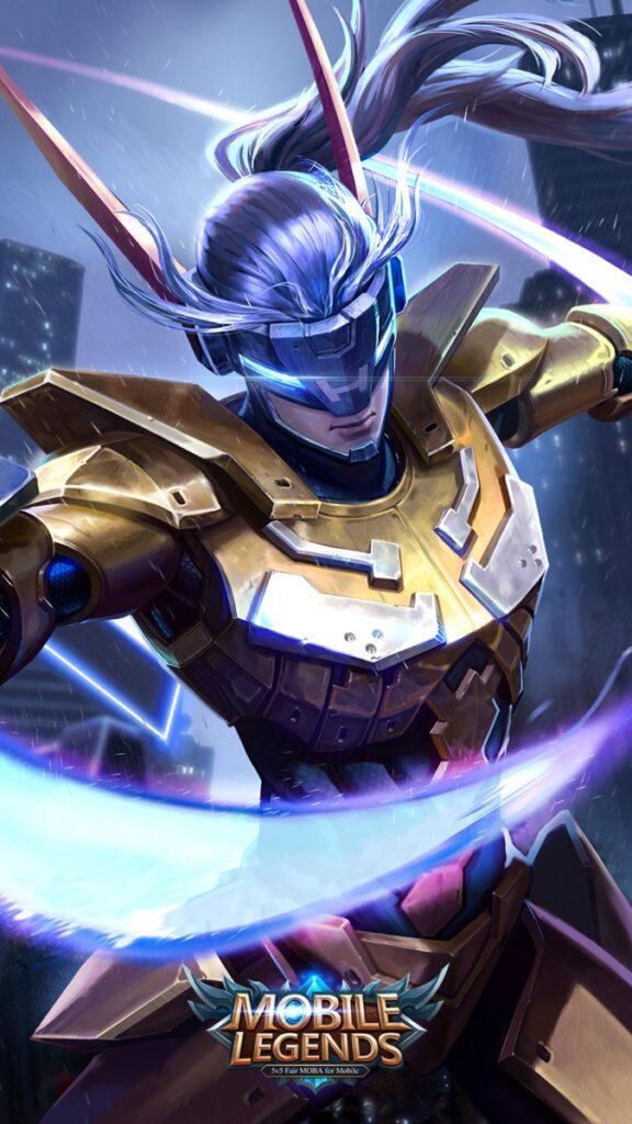 Saber Golden Flash Mobile Legends