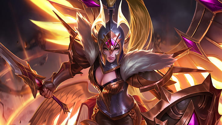 freya war angel mobile legends