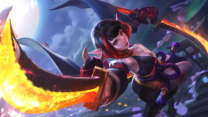 karina mobile legends spider lily