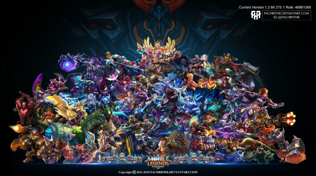 mobile legends wallpaper hd all heroes